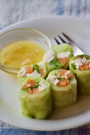 キャベツのロールサラダ